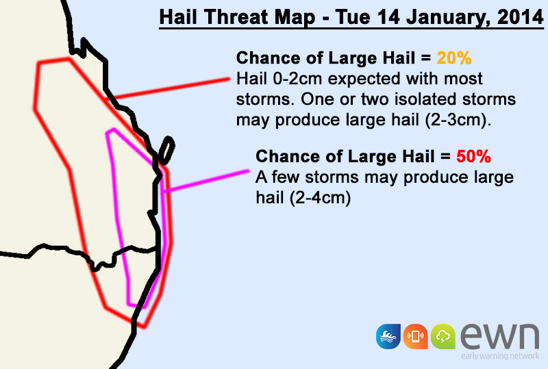 Hail Threat Map